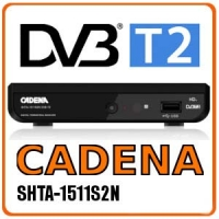 Эфирный цифровой ресивер Cadena SHTA 1511S2 (DVB-T2)