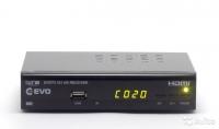Цифровой эфирный ресивер Evo T2 101 HD (DVB-T2)