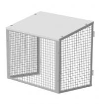 Антивандальная решётка 1000х600х500 для кондиционера
