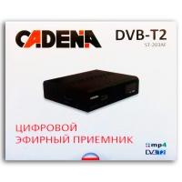 Цифровой эфирный ресивер Cadena 1104T2N (DVD-T2)
