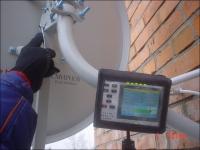 Монтаж и настройка антенны Телекарта 0,6 м.