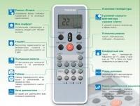 Пульт ДУ кондиционера Toshiba RAS-07SKHP/RAS-07S2AH-ES