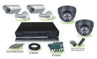 Готовый комплект видеонаблюдения на 2 уличные и 2 антивандальные камеры