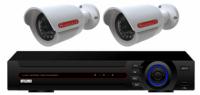 Готовый комплект видеонаблюдения на 2 уличные камеры