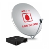 Монтаж и настройка антенны МТС 0,9 м.