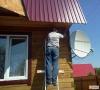 Настройка спутниковой антенны Телекарта 0,6 м.
