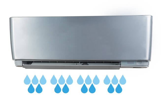 aircon leaking water problem